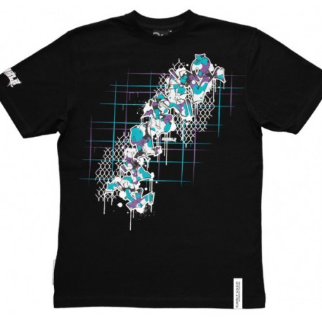 T-shirt Rumble Graff Black