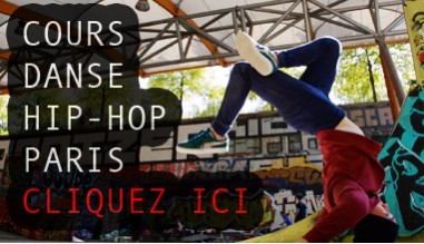 Cours de danse Hip Hop à Paris